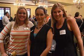 PHOTO GALLERY: Sarasota and Manatee YPG joint after hours - Heather  Andrews, Jessica Ackles and Shea Yates   Your Observer
