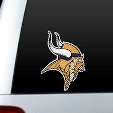 Minnesota Vikings Large Perforated Auto Window Decal Film Sticker Car Truck Ebay