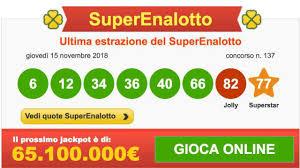 Superenalotto e Lotto ultima estrazione numeri, oggi sabato 17 ...