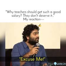 why teachers should get quotes writings by marathi master