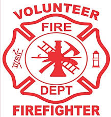 Amazon Com Firefighter Sticker 4 X 4 Volunteer Firefighter Maltese Cross Exterior Window Decal Automotive