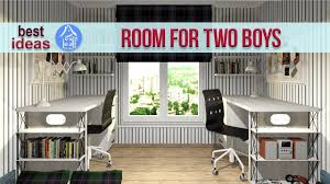 Creative Shared Bedroom Ideas For A Modern Kids Room For Two Boys Youtube