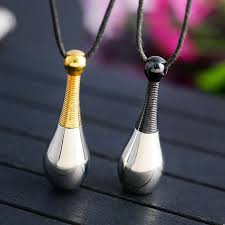 women s perfume bottle pendant