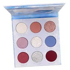 colourpop x disney elsa eyeshadow