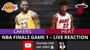 Lakers vs. Heat NBA Finals Game 1 Live Streaming Watch Party & Play-By-Play  Reaction - YouTube