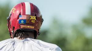 Cyclones To Sport State Flags On Helmets Cyclone Sidebar