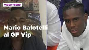 Mario Balotelli al Grande Fratello Vip - Grande Fratello Vip
