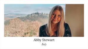 Italy Study Abroad Program Spotlight: Abby Stewart   International Programs    Virginia Tech
