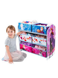 Disney Frozen Kids Bedroom Storage Unit With 6 Bins By Hellohome One Colour One Colour Best Pictur In 2020 Toy Storage Units Kids Bedroom Storage Bedroom Storage