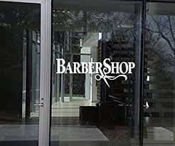 24 Large Barbers Pole Shop Vinyl Window Wall Art Door Sticker Sign Barber Hair