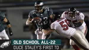 Looking Back at Duce Staley's First Career Touchdown | Old School All-22 -  YouTube