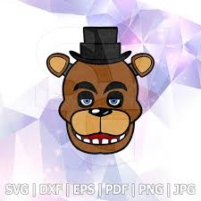 Five Nights At Freddys Fnaf Freddy Fazbear Bear Characters Layered Svg Dxf Vector Silhouette Cricut Fnaf Fnaf Freddy Fnaf Freddy Fazbear