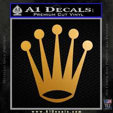 Rolex Crown Decal Sticker A1 Decals