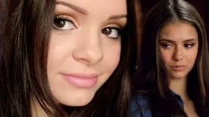 elena gilbert inspired makeup tutorial