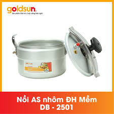 Nồi áp suất cơ 5L GOLDSUN DB2501, Giá tháng 10/2020