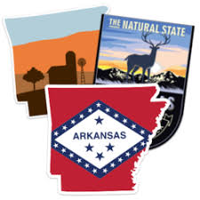 Us State Stickers State Decals For Cars Car Stickers