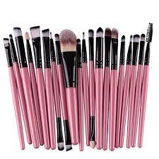 exclusive 20pcs set makeup brush set