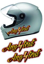2 Any Text Helmet Decals Gold Leaf Harley Dyna Fxr Fxrt Fxrs Fxrd Fxlr Low Ebay