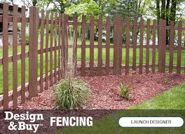Wood Fencing At Menards