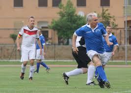 Roma, incontro di calcio tra la Nazionale italiana prefettizi e la  rappresentativa del ministero dell'Interno tedesco