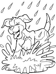 Honden Kleurplaat Met Afbeeldingen Kleurplaten Dieren