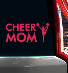 Cheer Mom Window Decal