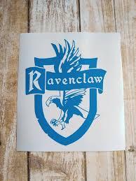 Ravenclaw Harry Potter Vinyl Decal Ravenclaw Harry Potter Etsy