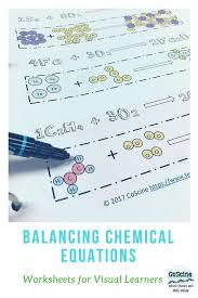 ilrate balanced chemical equations
