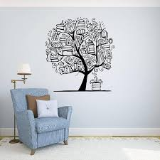 Large Tree With Book Wall Sticker Library Classroom Tree Education Books Wall Decal Baby Nursery Kids Room Vinyl Decor Wall Decals For Bedrooms Wall Decals For Cheap From Onlinegame 12 21 Dhgate Com