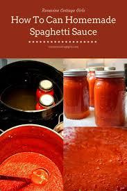 canned spaghetti sauce recipe