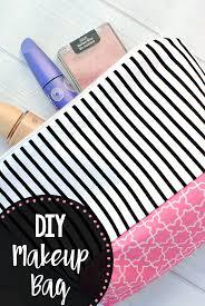 diy makeup bag pattern crazy little