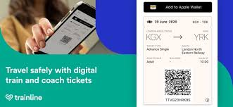 book train tickets on the app