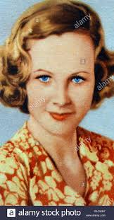 Wendy Barrie (1912-1978) an English actress. Dated 20th Century Stock Photo  - Alamy