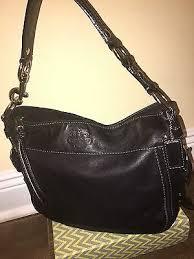 inexpensive coach black leather satchel