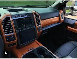 vinyl wrapped interior ford f150