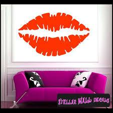 Lips Vinyl Wall Decal Wall Mural Car Sticker Stickers Symbolsst027 Swd