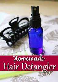 homemade hair detangler all natural
