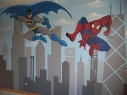 Pin By Dar Ballesteros On B O Y S B E D R O O M Spiderman Room Batman Room Superhero Room