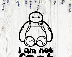 Baymax Decal Etsy