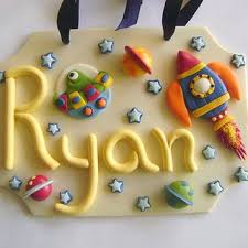 Space Kids Name Sign Personalized Kids From Paisleyandparadise