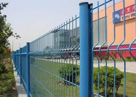 4 Mm Diameter Wire Mesh Fence Pvc Coating Steel Green For Airport Security
