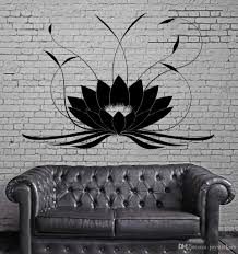 Lotus Flower Buddha Wall Stickers Yoga Studio Meditate Window Tattoo Home Design Waterproof Wall Sticker Vinyl Decal Alphabet Wall Stickers Appliques For Walls From Joystickers 10 67 Dhgate Com