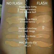 foundation shade matching mac studio