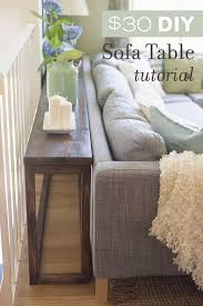 30 diy sofa console table tutorial