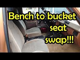 bucket seat swap bullnose ford f150