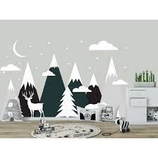 Shop Mountains Wall Decal Nursery Kids Overstock 32138125