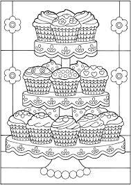 Cupcakes 04 Topkleurplaat Nl