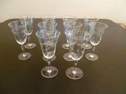 pin on vintage cordial glasses