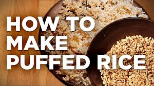 how to make puffed rice 10 steps with