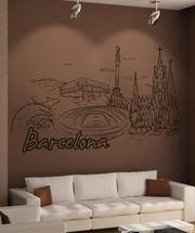 Vinyl Wall Decal Sticker Barcelona 1384 Stickerbrand